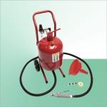 Sableuse mobile 17 litres avec accessoires - Sécurité renforcée