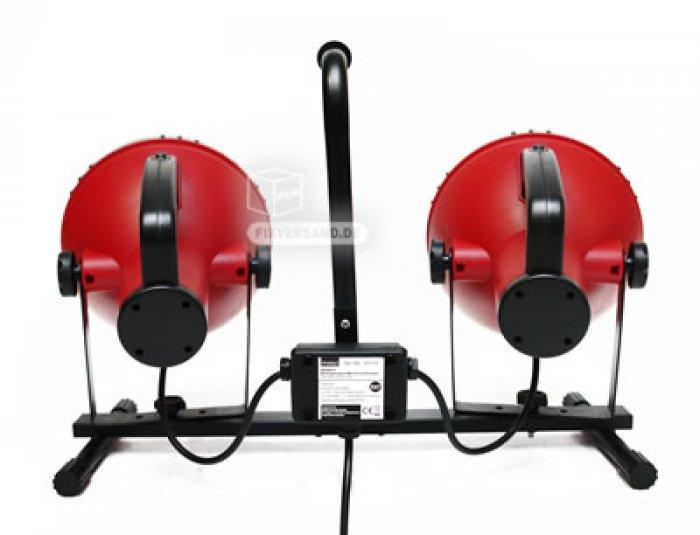 projecteur de chantier ou de studio 2 spots x 36 w eco energie outillage fournitures. Black Bedroom Furniture Sets. Home Design Ideas