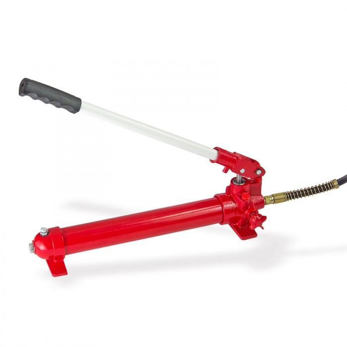 Presse d'atelier hydraulique 10 T avec manomètre course 155 mm
