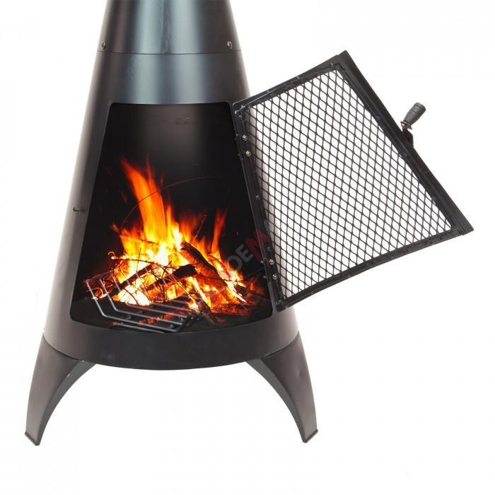 "Brasero cheminée grill/barbecue extérieur ""Valencia"""