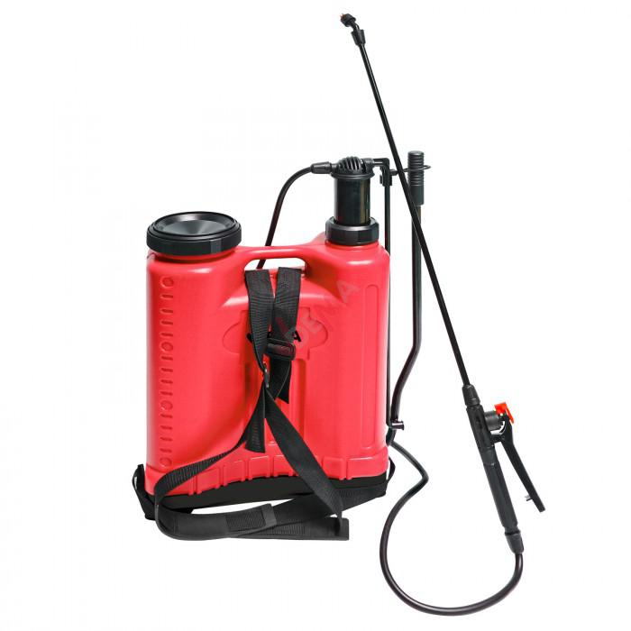 Pulvérisateur dorsal à pompe + lance - 18 litres