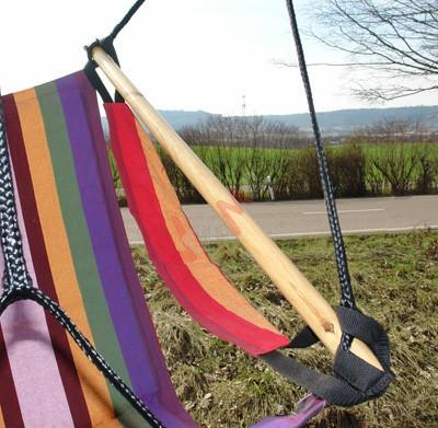 """Hanging chaise / chaise hamac """"Stripe"""" 150 kg"""