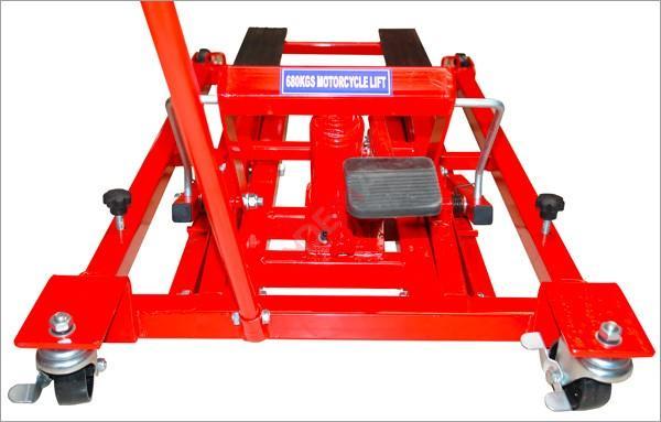 Cric de levage moto/quad 680 kg
