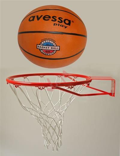 Set Panier de basket + balle