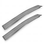 Rampes de chargement incurvées en Aluminium - 2 pièces