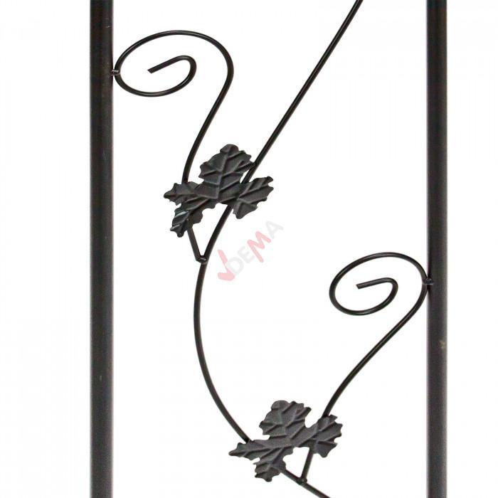 Arche de Jardin en métal avec portillon