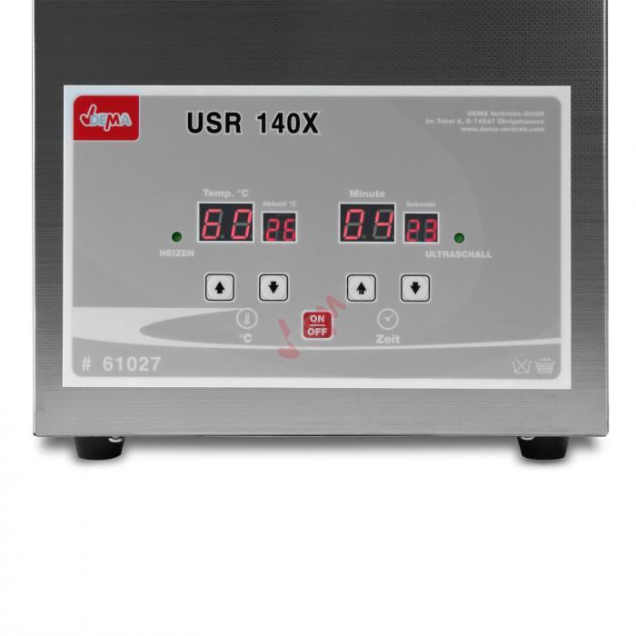 Nettoyeur ultrasons chauffant 4,5 l.