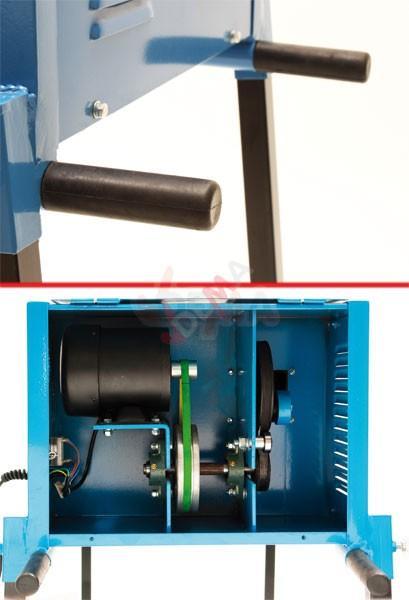 Tamis plat vibrant électrique 180 W 70 x 40 cm