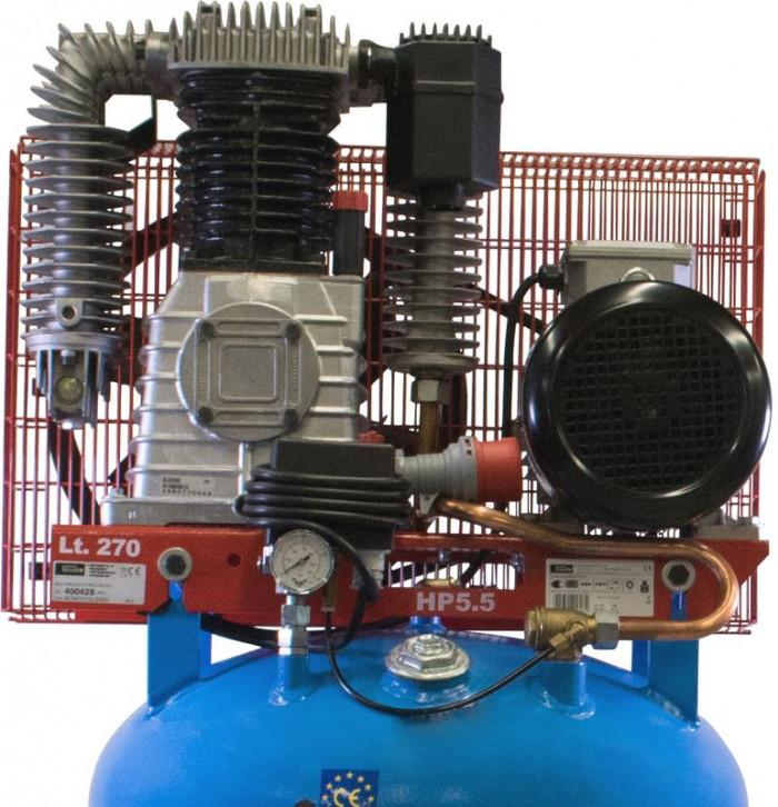 Compresseur 11 bars 270 L. 400 V