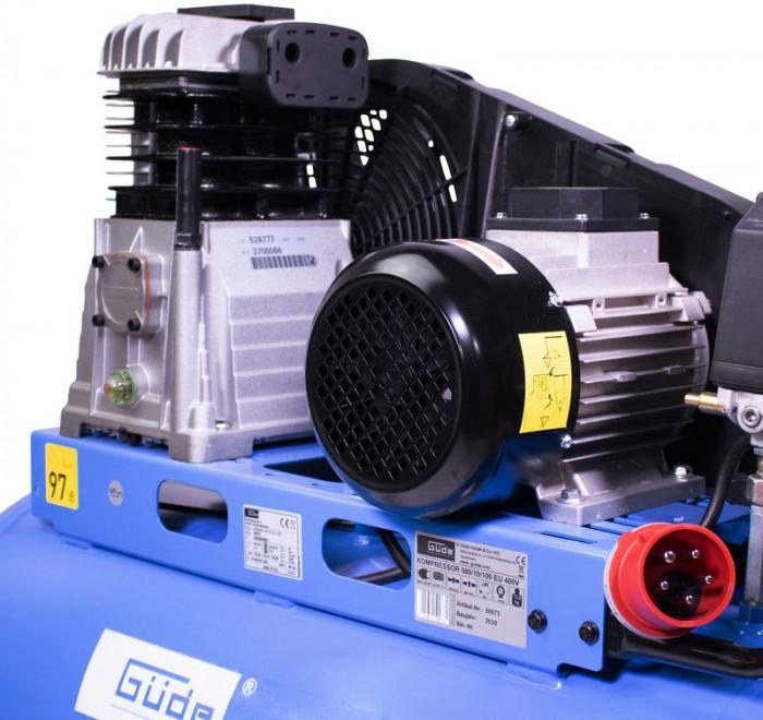 Compresseur 100 l 10 Bar 2 cylindre 400 V