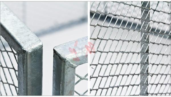 Compost en métal entièrement galvanisé 107x107x82cm