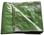 Bâche plate universelle verte 2 x 3 m 140g/m²