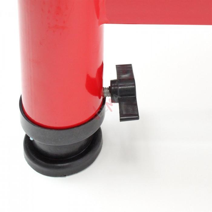 Table à rouleaux 1,65 m de longueur charge max. de 200 kg