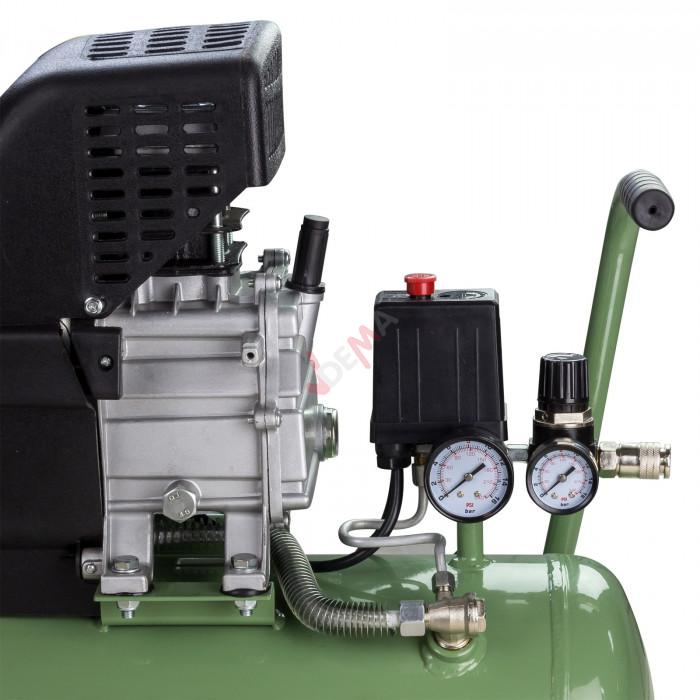 Compresseur à huile 24 l. 8 bar