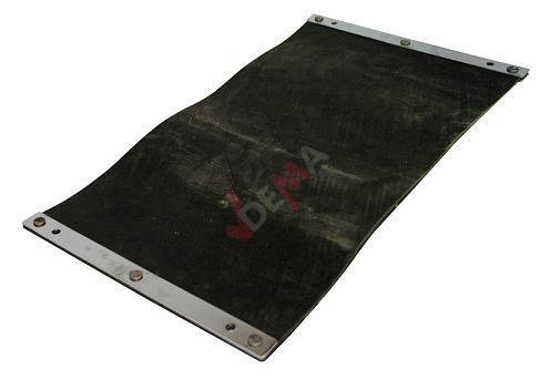 Tapis caoutchouté pour le Compacteur - Plaque vibrante - G55467