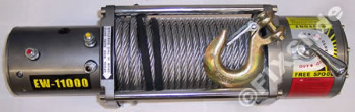 Treuil T-MAX 5,7 T - 24 V - 6 CV