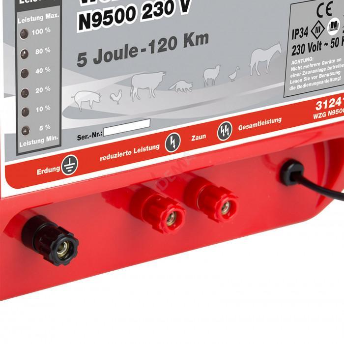 Electrificateur de clôture 230 V - 2/5 Joule