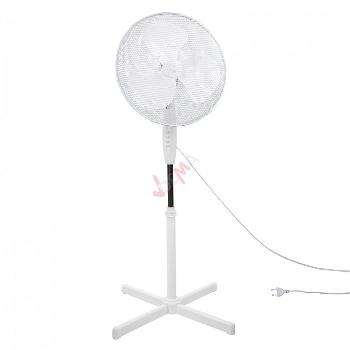 Ventilateur sur pieds 3 vitesses 45 Watt