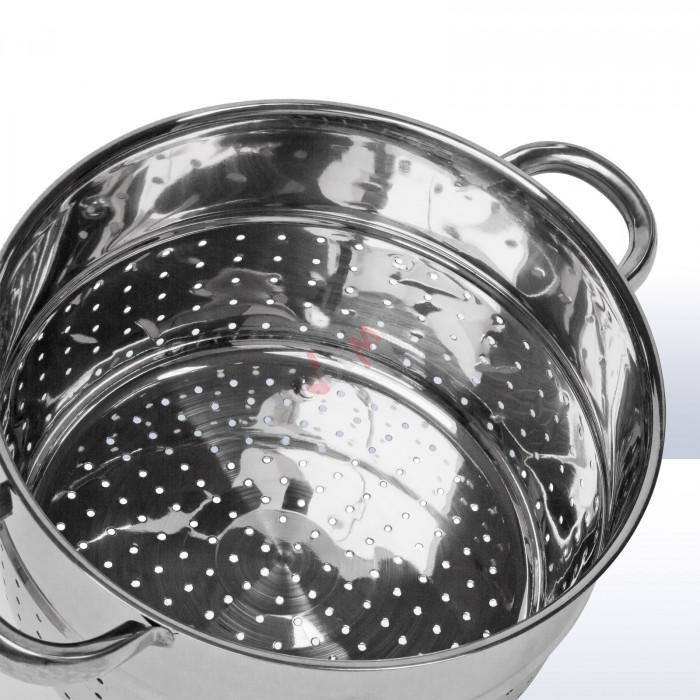 Extracteur de jus à vapeur inox 26 cm