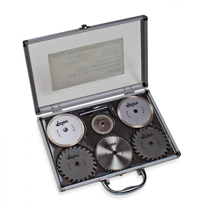 Set Lame de scie pour mini scie fixation centrale 10 mm