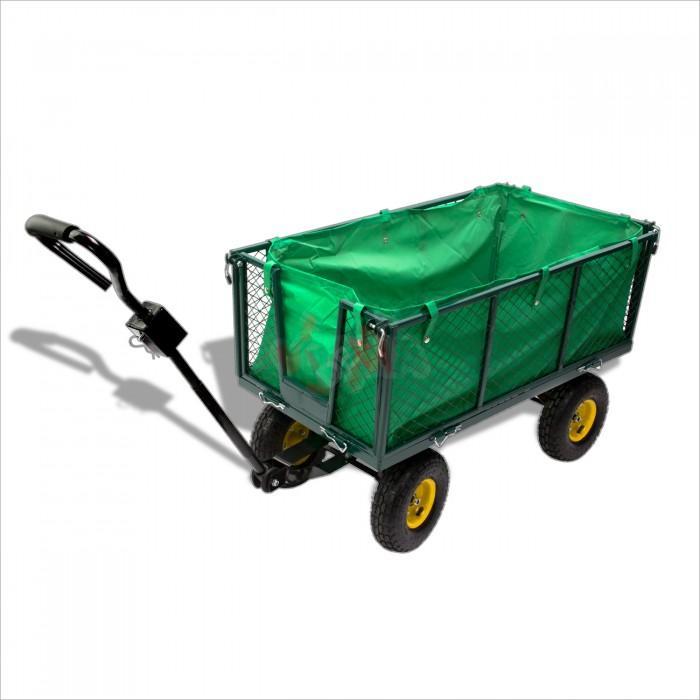 Remorque green chariot de jardin main jardin entretien Chariot de jardin xxl