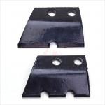 Couteaux de rechange pour mèche de tarière 3 points - 220 mm - D61809