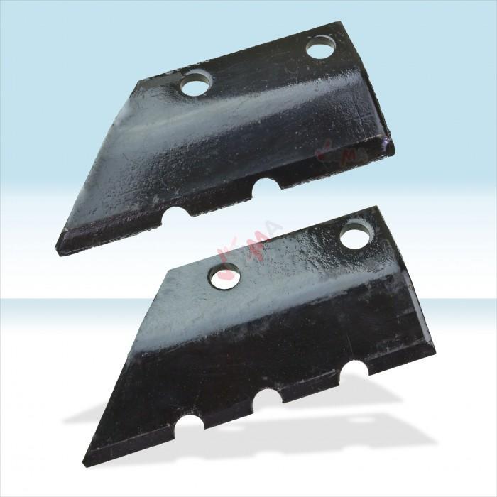 Couteaux de rechange pour mèche de tarière 3 points D61810