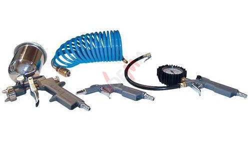 Set accessoires outils pneumatiques - 4 pièces