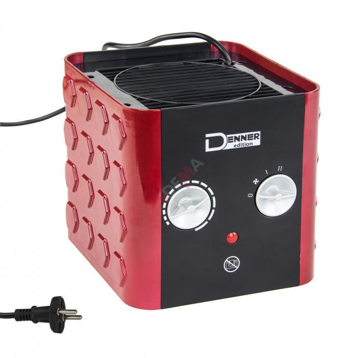 Chauffage ventilateur radiateur céramique mobile 1500 W - 230 Volt