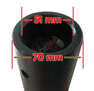 Mèche pour tarière 3 points 300 mm (12'')