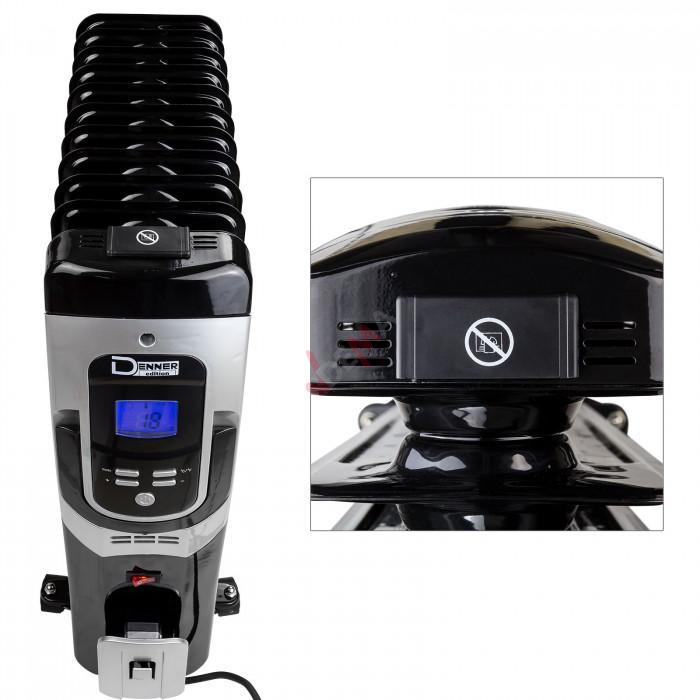 Radiateur à bain d´huile 2500 Watt 11 Segments