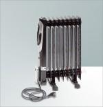 Radiateur à bain d´huile 2000 Watt 9 Segments