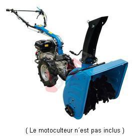 Adaptateur chasse neige déneigeuse pour motoculteur G95180 GSF 560