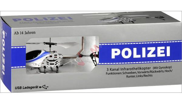 """Hélicoptère de police Allemande """"Polizei"""""""