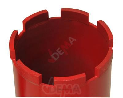 Cloche-couronne pour Carotteuse 82 x 400 mm - Scie trépan