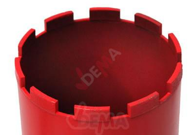 Cloche-couronne pour Carotteuse 122 x 400 mm - Scie trépan