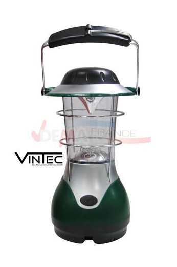 lampe tempete camping 14 led vintec plein air camping. Black Bedroom Furniture Sets. Home Design Ideas