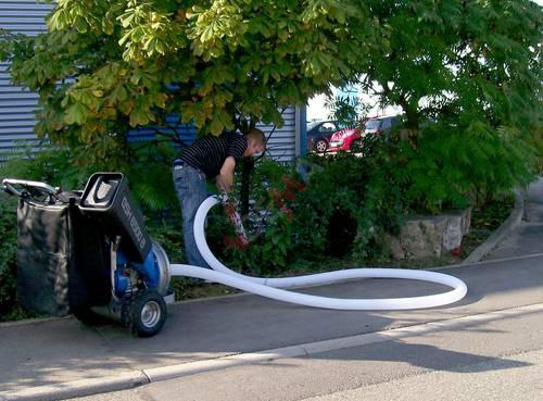 Sac de rechange récupérateur de déchets pour notre aspirateur broyeur
