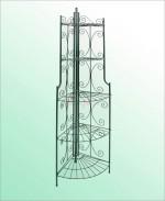 Étagère d'angle antique 35 x 35 x 160 cm