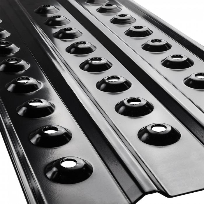 Plaque à sable métallique paire 100 x 45 cm - la paire