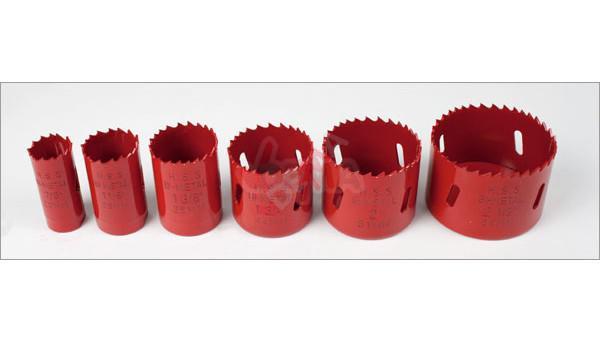 Scie cloches bi-métal 9 pièces en coffret