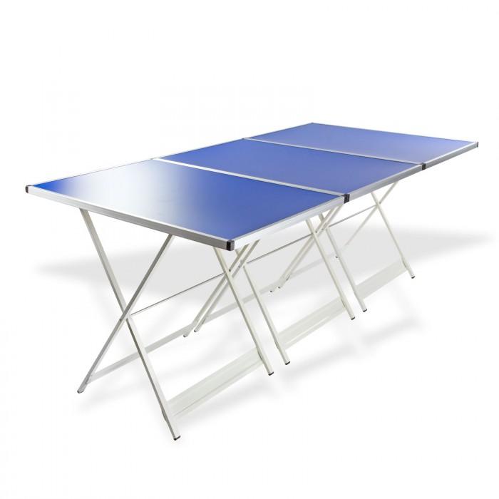 Tables pliantes réglables en hauteur - set 3 pièces