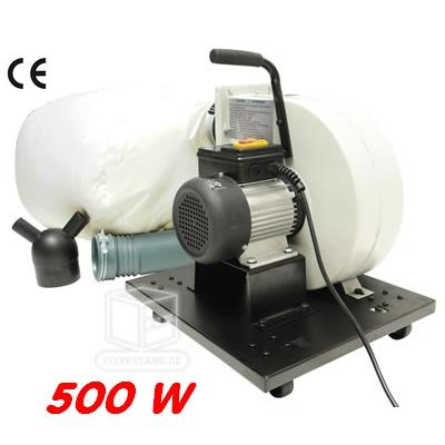 aspirateur mobile d 39 atelier 550 w 900 m3 h outillage. Black Bedroom Furniture Sets. Home Design Ideas