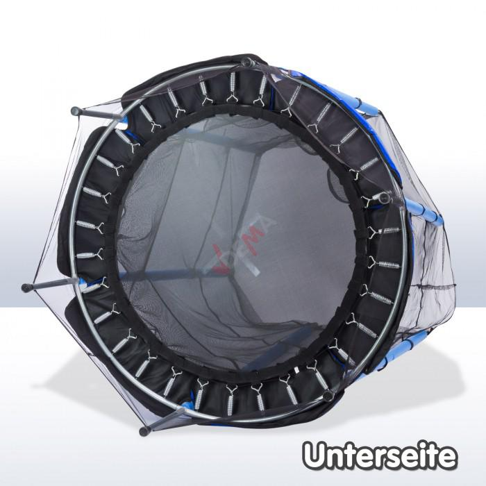 trampoline 140 cm avec filet de s curit tout ge gar on. Black Bedroom Furniture Sets. Home Design Ideas