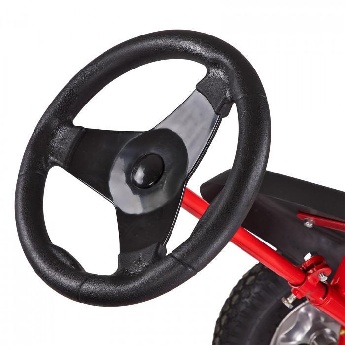 Karting à pédales go kart bi-place XL