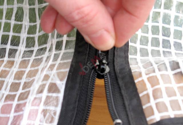 Bâche à effet de serre avec cadre pour le petit VEG 100 CM