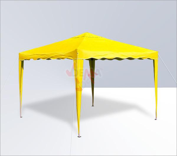tonnelle pliante pavillon pliable 3x3 m couleur jaune plein air camping. Black Bedroom Furniture Sets. Home Design Ideas