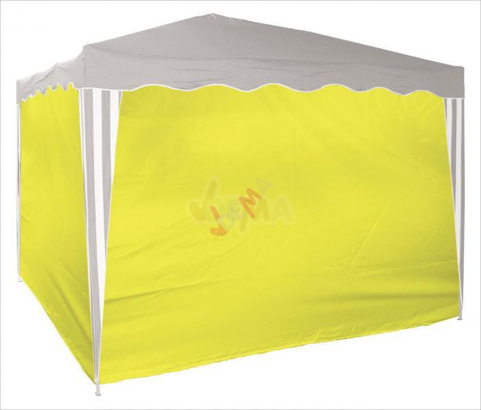 Set de bâches d´habillage pour tonnelle / pavillon jaune D14214