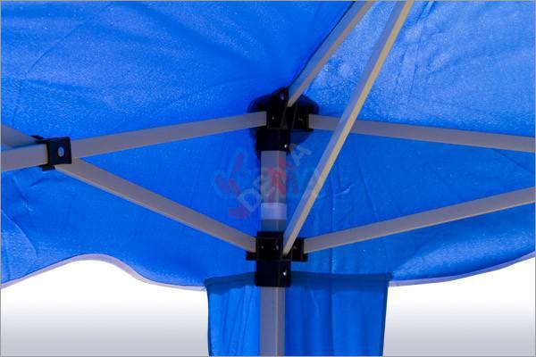 Tonnelle pliante/ pavillon pliable 3x3 m   Couleur bleu*