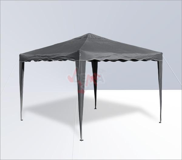 Tonnelle pliante/ pavillon pliable 3x3 m   Couleur Anthracite*